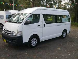2008 Toyota Commuter Campervan Package - LOW KMS! West Gosford Gosford Area Preview