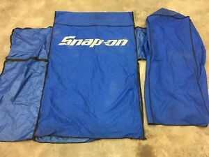 Snap on zip up toolbox cover