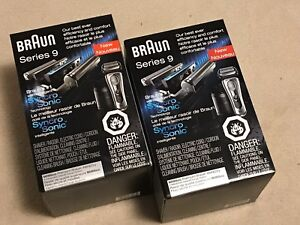 Brand new sealed in box Braun Series 9 shaver & clean station