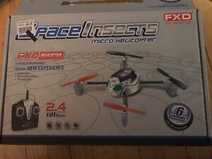Remote micro helicopter in box 2.4 GH