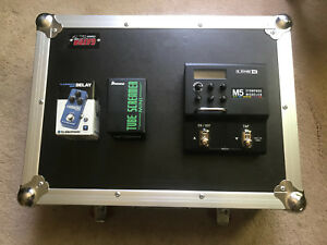 Pedals and case for sale