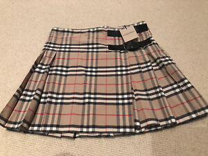 Girls Burberry Skirt - New with Tags - Size 14