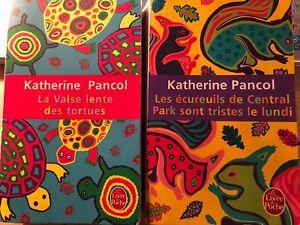 Deux romans de Katherine Pancol