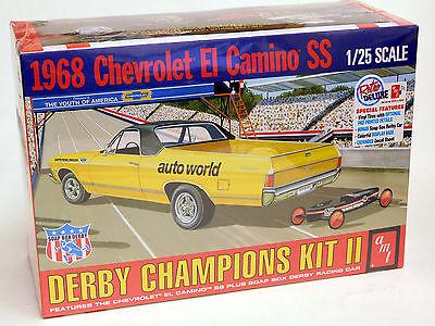 AMT 1/25 1968 Chevy El Camino SS Soap Box Derby Champions Plastic Kit 1018