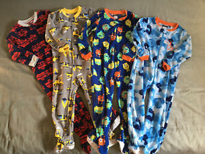 Boys fleece sleepers size 3