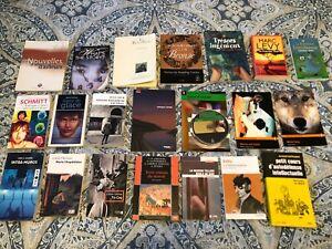 Livres du secondaire, cégep et autre
