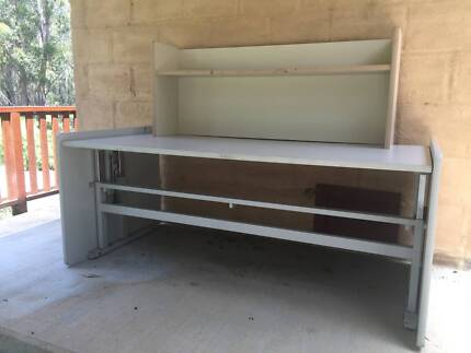 Large - adjustable height - office desk