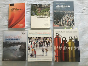 Ryerson University Textbooks for sale