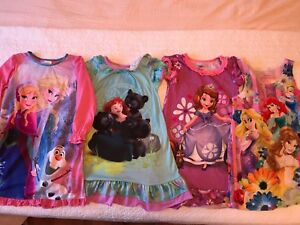 Disney store princess night pj dress (nighty). Size 4T