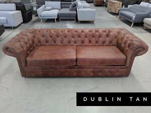 Premium Leather Sofa and Dining Chair Outlet - FURNITURE OUTLET Epping Whittlesea Area Preview