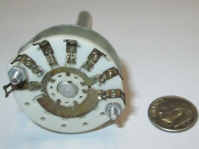 Centralab Ceramic Rotary Switch Special 1 Pole - 5 Positions Centralab Nos