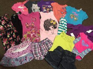 Lot de linge d'été pour fille 2 ans