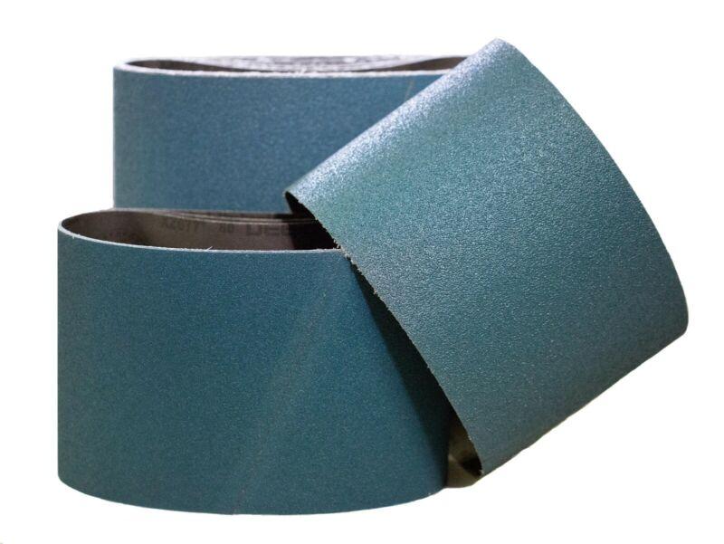 """7-7/8"""" x 29-1/2"""" Premium Floor Sanding Belts Zirconia 80 Grit (10 Belts)"""