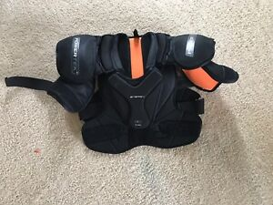 Hockey youth shoulder pads.