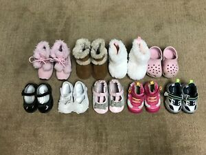 Girls infant shoes size 2 to 3