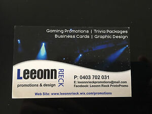 1000 Business Cards $120 Laidley Lockyer Valley Preview