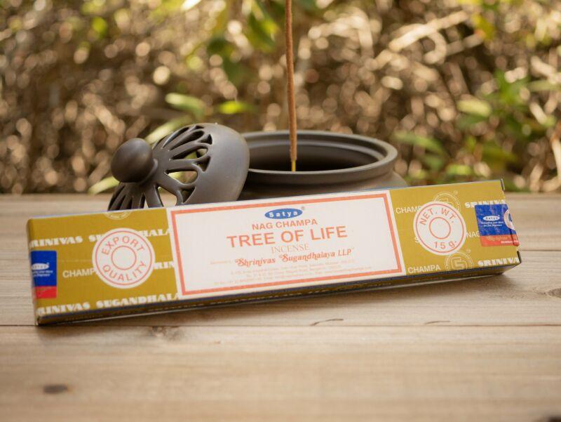 Satya Tree of Life Nag Champa Incense Stick