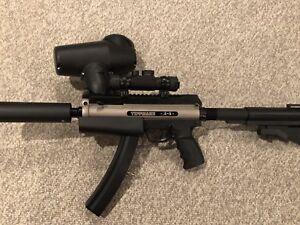 Tippman A-5 paintball gun