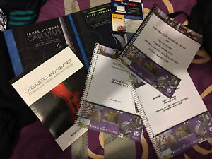 Calculus 1000/1301 full course pack (price negotiable)