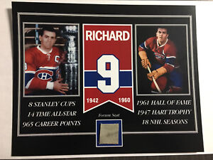 PIECE OF MONTREAL FORUM WITH YOUR FAVOURITE PLAYER