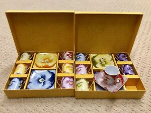 Small size Beautiful coffee/tea set for 6 or 12.