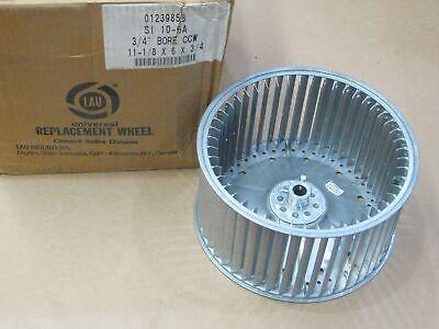 Lau Si 10-6a Squirrel Cage Blower Wheel Ccw 11-18 X 6 X 34 Bore 01239858