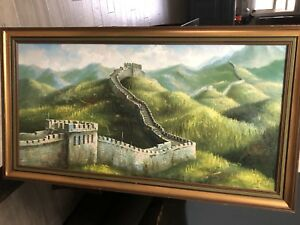 Painting of The Wall Of China