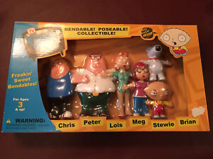 Family Guy New In Box 6 Piece Bendables