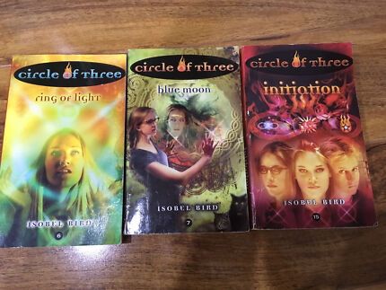Young adult Isobel bird circle of three books