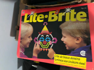 Lite brite collectible item.