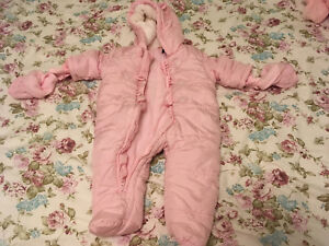 Baby girl winter clothing 0 to 6 months