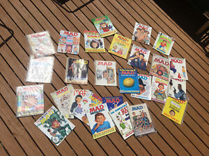 MAD magazines various issues