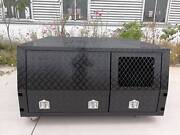 Customized Jack Off Black Powder Coated Canopy (With Dogbox) Campbellfield Hume Area Preview