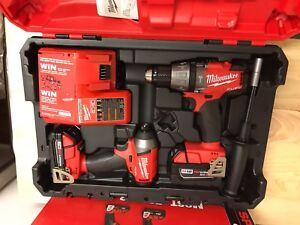 Milwaukee M18 Fuel Impact and Hammer Drill (Brand New)