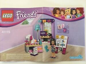 Lego Friends Emma's Creative Workshop 107 Pieces