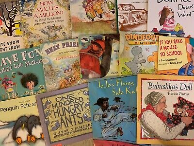 ~CHOOSE YOUR LOT~ KID'S CHILDREN'S PICTURE BOOKS (A-B) $2.00 Ship 4 ALL