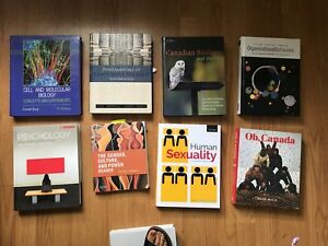 CHEAP DAL textbooks- Biology, Psych, Arts, Business + more
