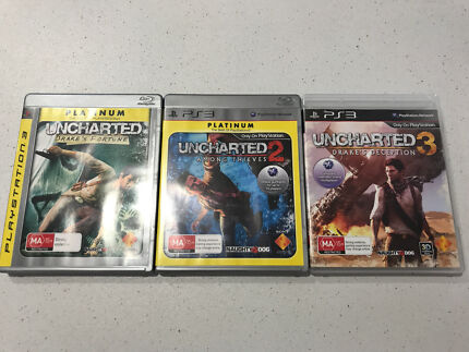 PS3 Uncharted Games