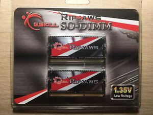 GSKILL RIPJAWS DDR3 16gb (2x8gb) 1600mhz laptop RAM