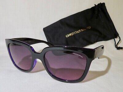 Christian Siriano EDIE Designer Sunglasses Dark Purple, NEW!!!, (Christian Designer Sunglasses)