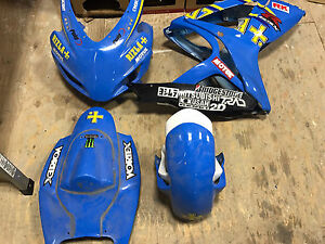 2006/2007 Suzuki GSXR 600/750 Race Fairings