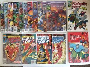 Fantastic four comic lot (18 Total)