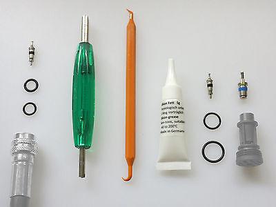 Inflator Werkzeug  /  Revisions -  Kit , Inflator Werkzeug, Schrader Ventil