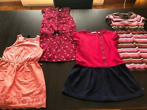 Lot 8 Robes 4 ans