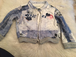 Diesel jacket for baby girl size 9 month