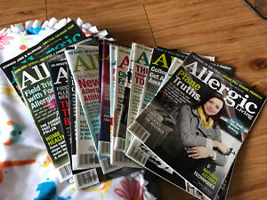 Allergic living magazines