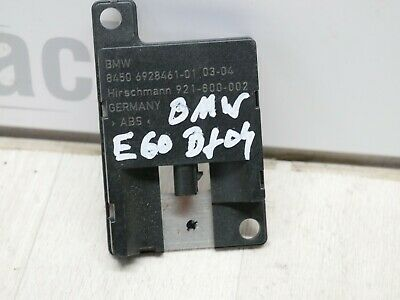 Gebraucht, Orginal Antennenverstärker Blue Tooth Antenne BMW 530D (E60) Bj. 04 845069284610 gebraucht kaufen  Schwedt