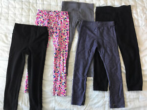Girl leggings.  Size 5T