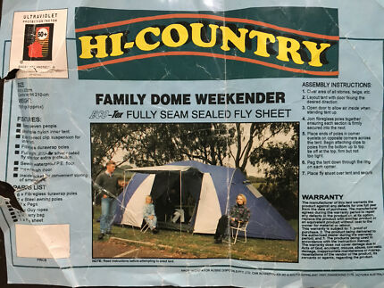 Family dome tent & Sportiva Headland Family Tent | Camping u0026 Hiking | Gumtree ...