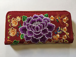 Chinese embroidery wallet